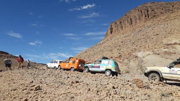 4LdefiMaroc 6e éd- 6e étape Ouarzazate